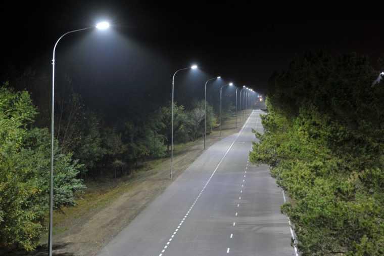 Проект освещения автомобильной дороги
