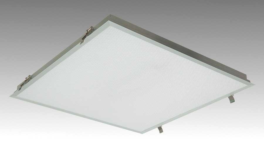 Встраиваемый офисный светодиодный светильник 595х595