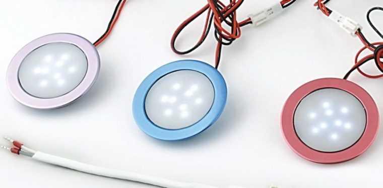 Точечные потолочные LED-светильники