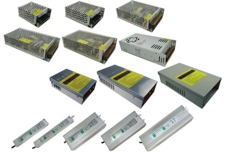 Блоки питания и драйверы для светодиодных светильников