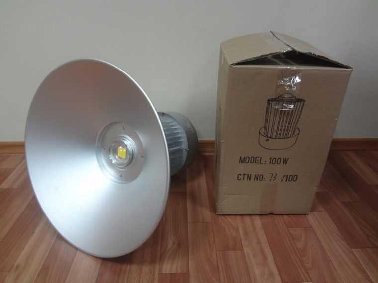 Светодиодная промышленная лампа с диффузором