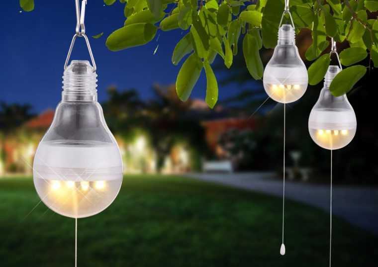 Уличные декоративные светодиодные светильники