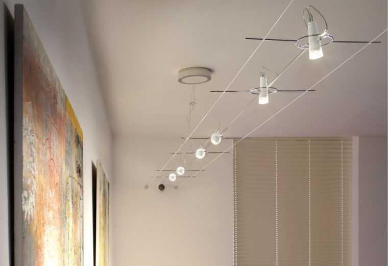 Тросовая система освещения