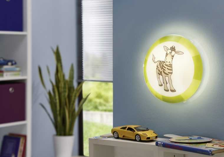 Детский светильник для локальной подсветки