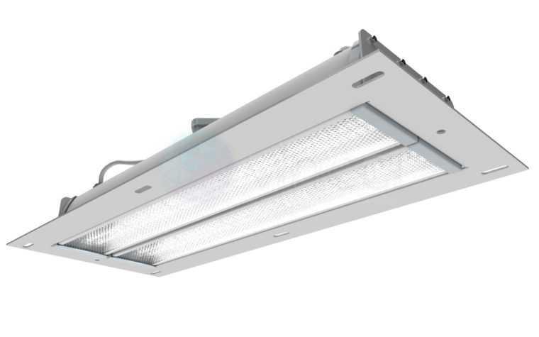 Светильник для автозаправочных станций A-AZS-50/5800
