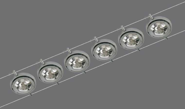 Струнный светильник Paulmann Пауэрлайн с галогенными лампами
