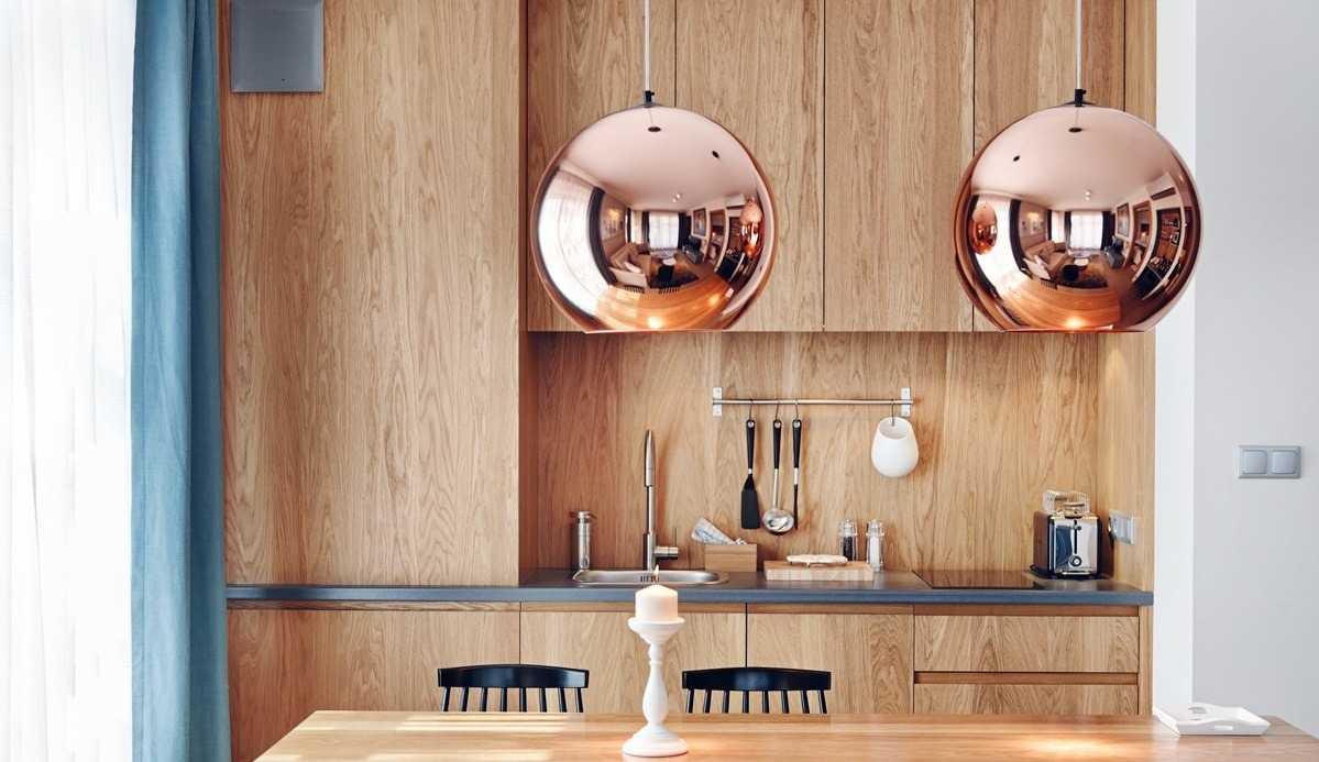 Потолочные светильники для кухни с круглым плафоном