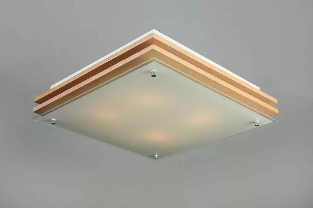 Плоский светильник для низких потолков