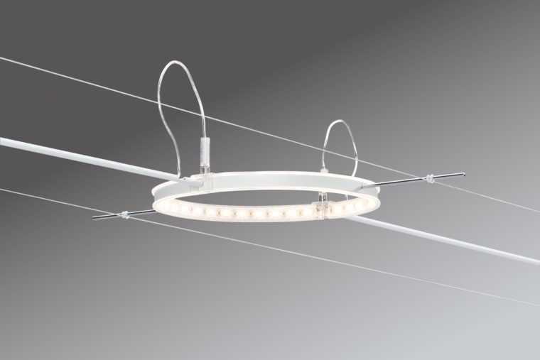 Светодиодный светильник на струнах