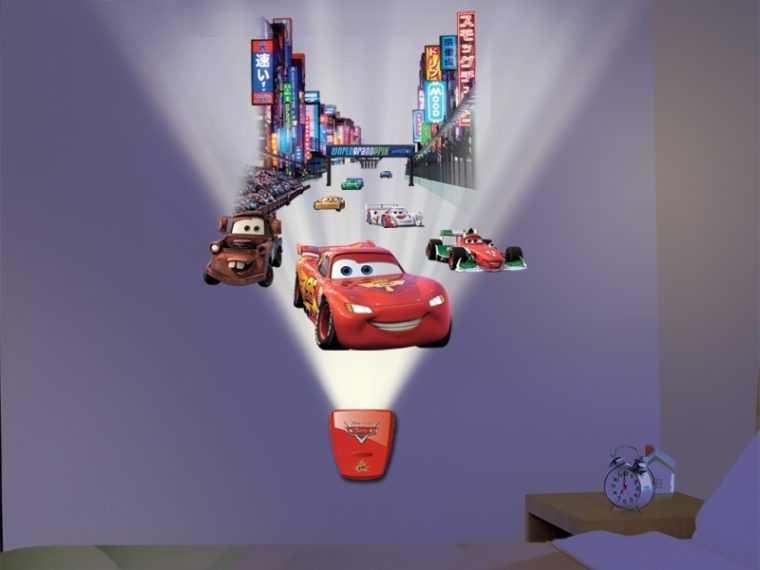 Проекционный светильник-ночник для детской комнаты