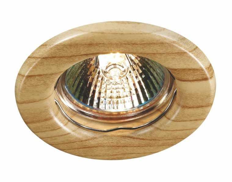 Точечный мебельный светильник для кухни с галогенной лампой
