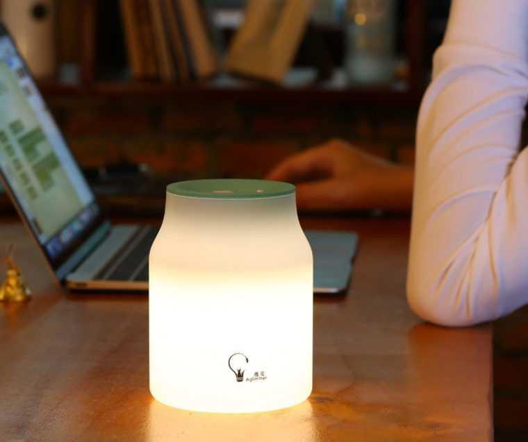 Настольный светильник с мягким освещением для ребенка