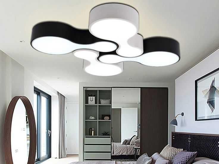 Дизайнерский потолочный светильник для спальной комнаты