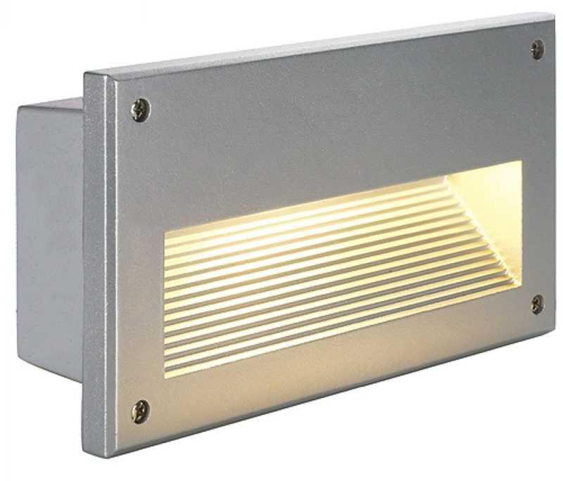 Встраиваемый в стену уличный светильник SLV Brick
