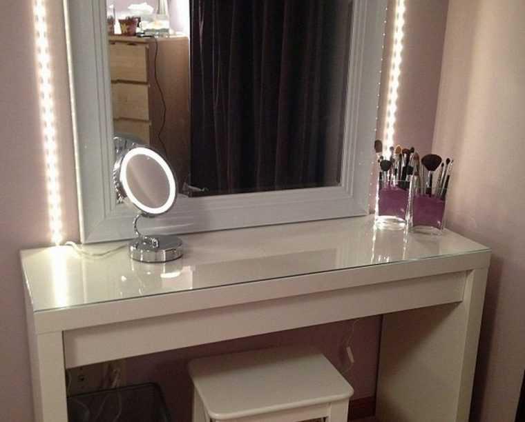 Круговой светильник для туалетного столика