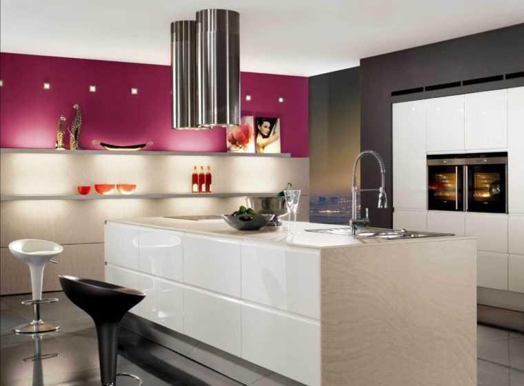 Кухонные светильники в стиле хай-тек
