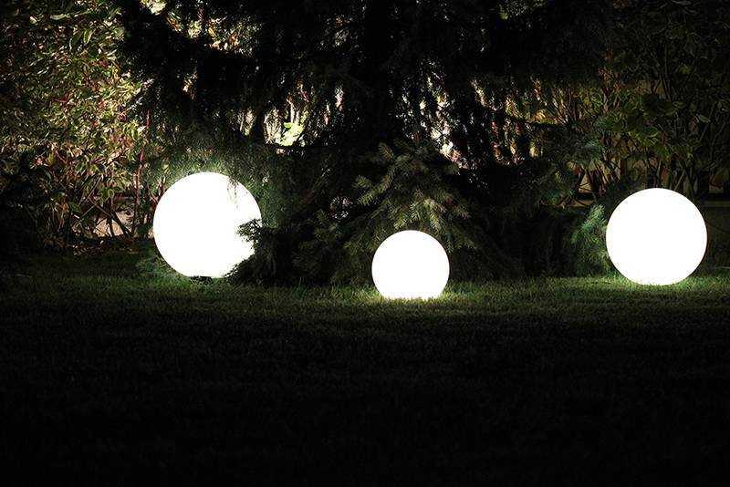Наземные уличные LED-светильники