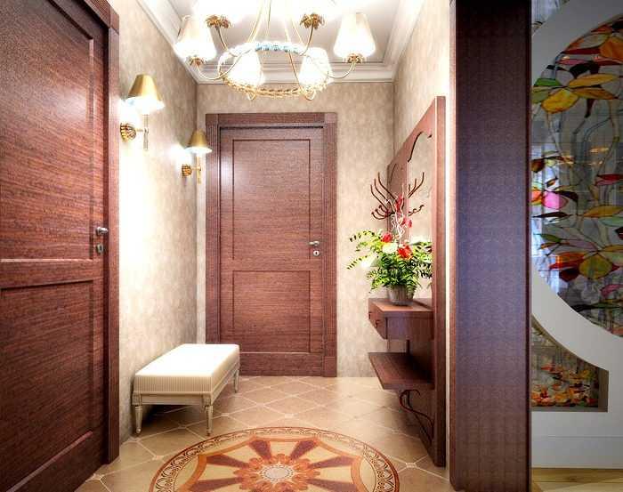 Дополнительное освещение в коридоре с помощью настенных бра