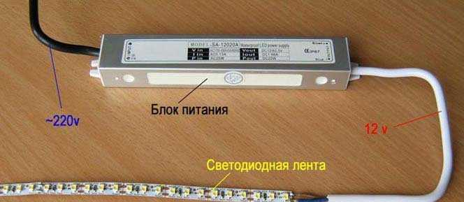 Питание LED-ленты