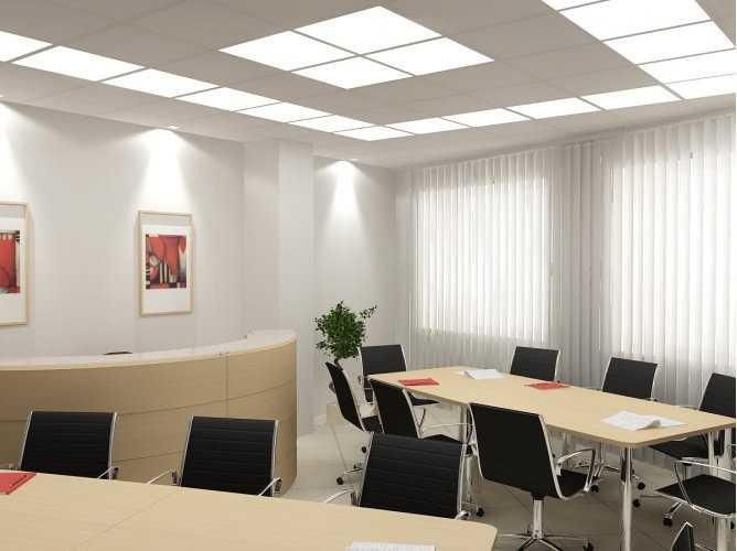 Вариант офисного освещеня
