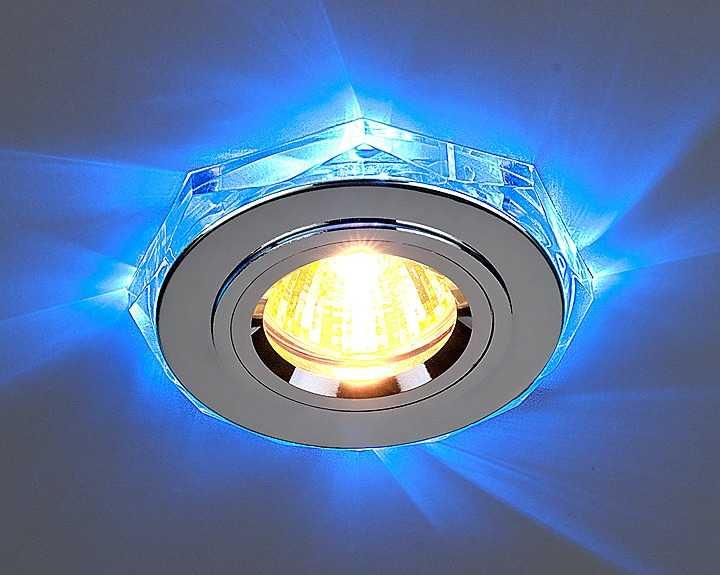 Точечные светильники с подсветкой