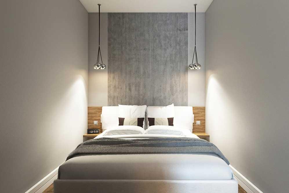 Подвесные светильники для компактной спальни