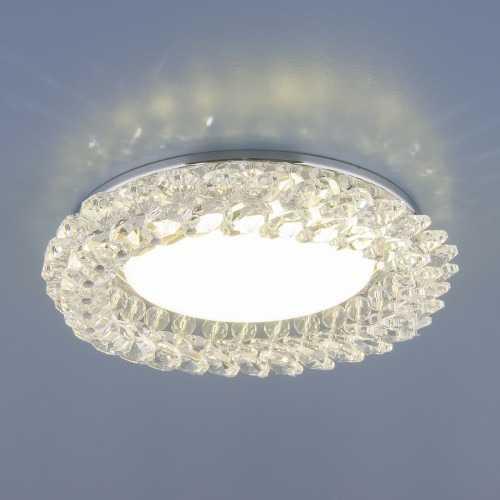 точечный хрустальный светильник