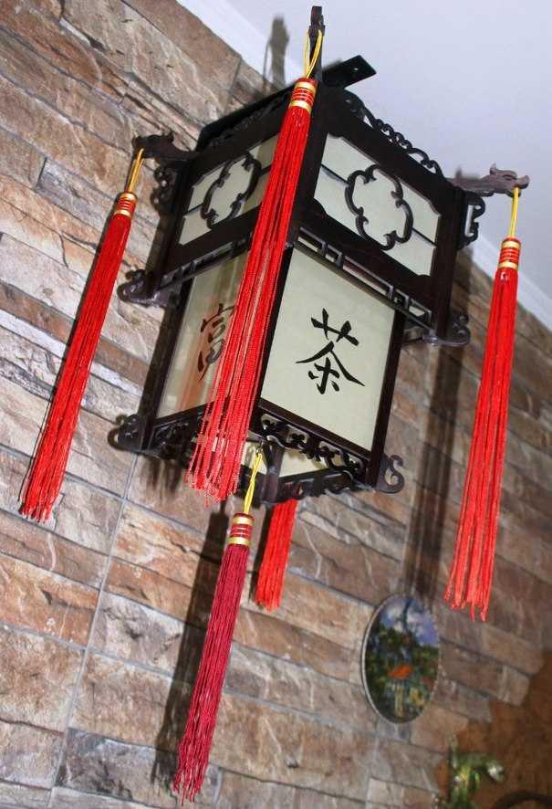 Светильники в китайском стиле