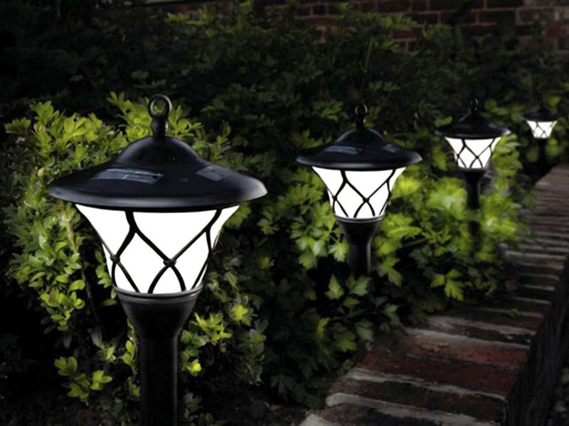 Дачные светильники для декора
