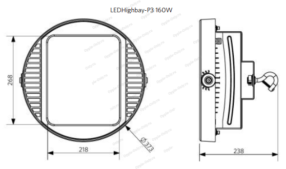 Схема светильника