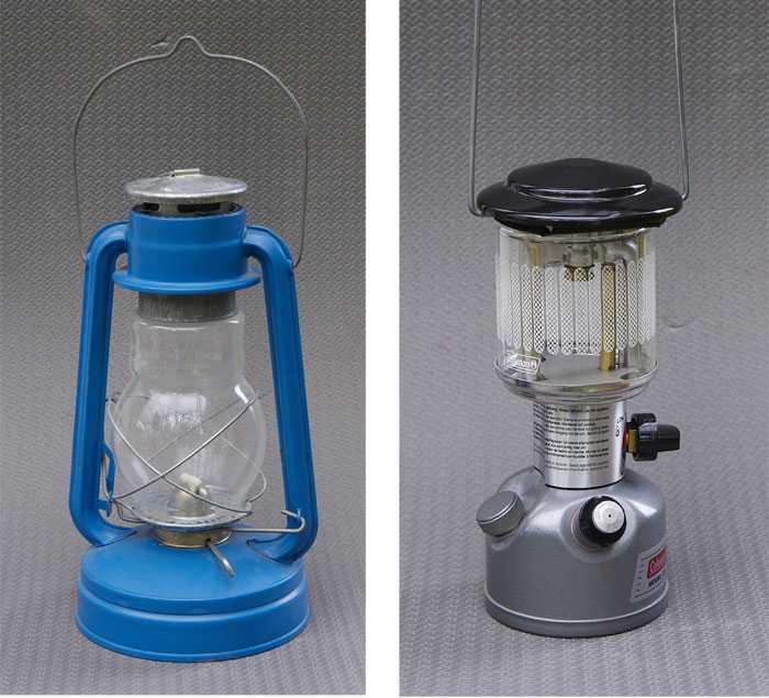 Туристические газовые фонари