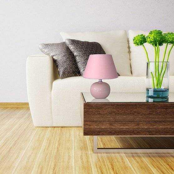 Лампа настольная модели AT09360 (Pink)