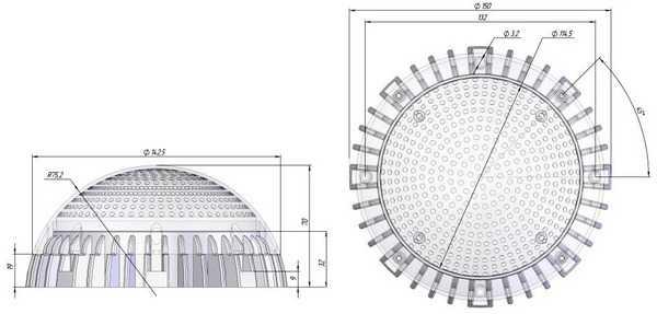 Схема светильника Sveteco 8