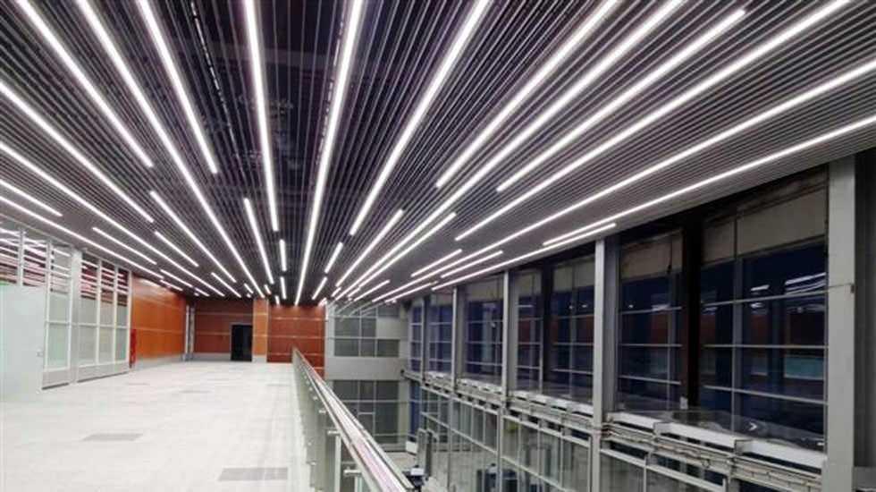 Техническая подсветка в промышленных помещениях