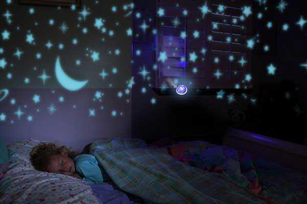 """Проектор """"Звездное небо"""" в детской"""