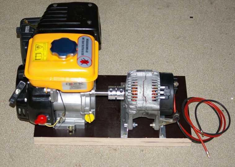 Самодельный бензиновый электрогенератор