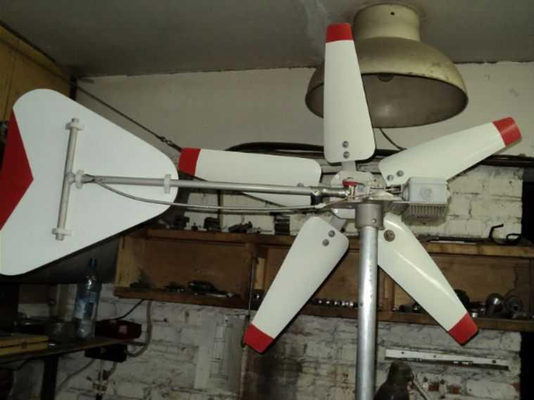 Электрогенератор ветряной